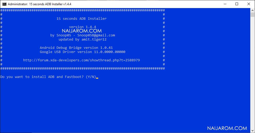 15 Second ADB Installer v1.4.4