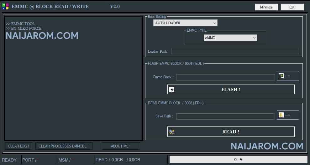 EMMC Block Read Write V2.0
