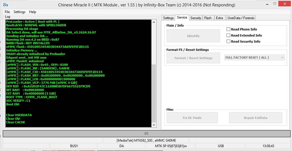 Infinitybox Chinese Miracle 2 MTK v1.55