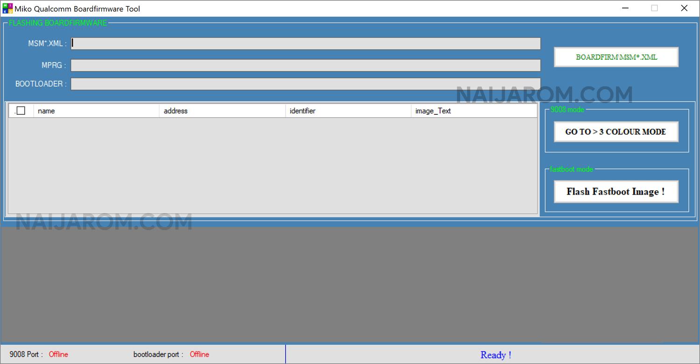 Miko Qualcomm Board Firmware Tool