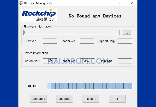 RockChip Device Manager v1.7