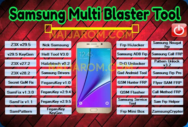 Samsung Multi Blaster Tool