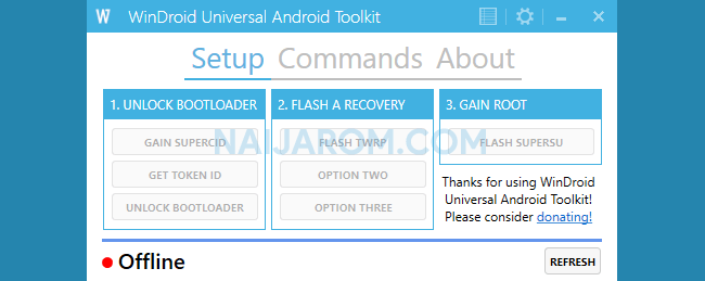 WinDroid Universal Android Toolkit v2.4
