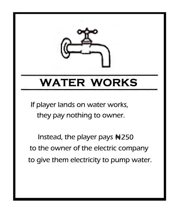 Monopoly Nigerian Edition Nigerian Newcomer