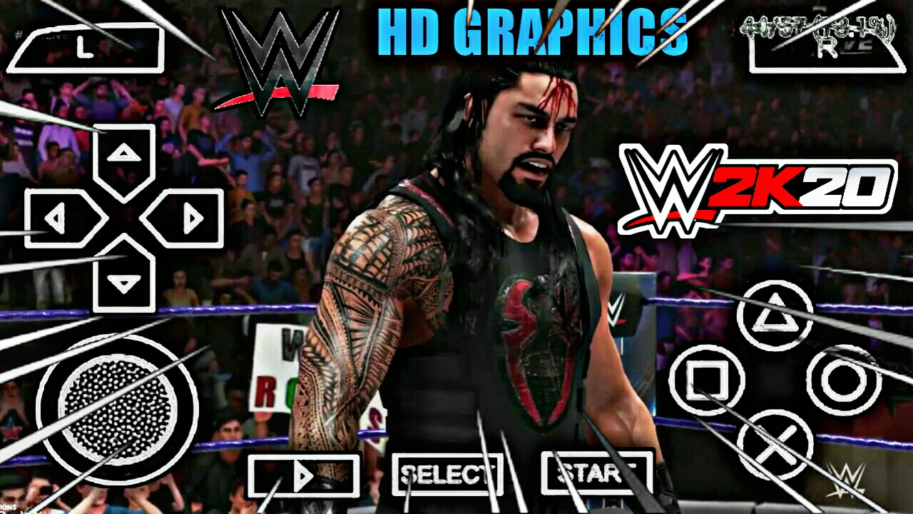 PicsArt 04 04 02.20.33 - WWE 2k20 PPSSPP ISO File And APK MOD