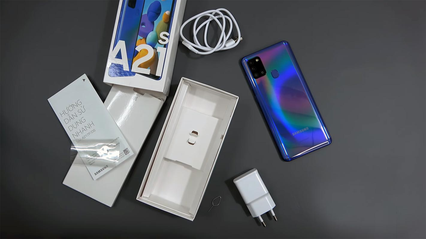 Samsung Galaxy A21s Unboxed - Samsung Galaxy A21s price in Nigeria and full specs
