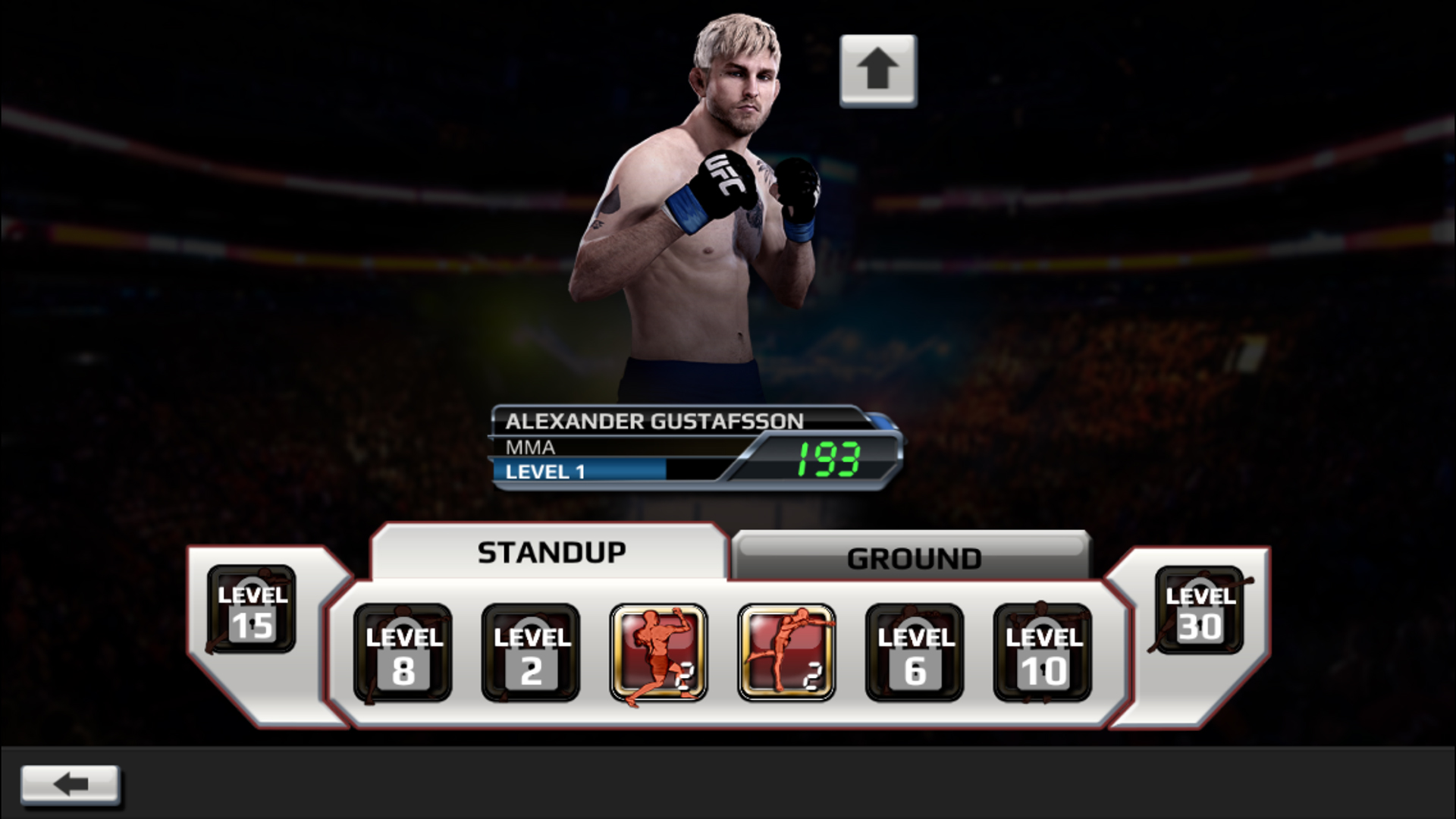 UFCH ANDF EN 1920x1080 Screen04 R1EA - UFC Mod APk + Obb Data Files (Unlimited Gold/Unlocked)