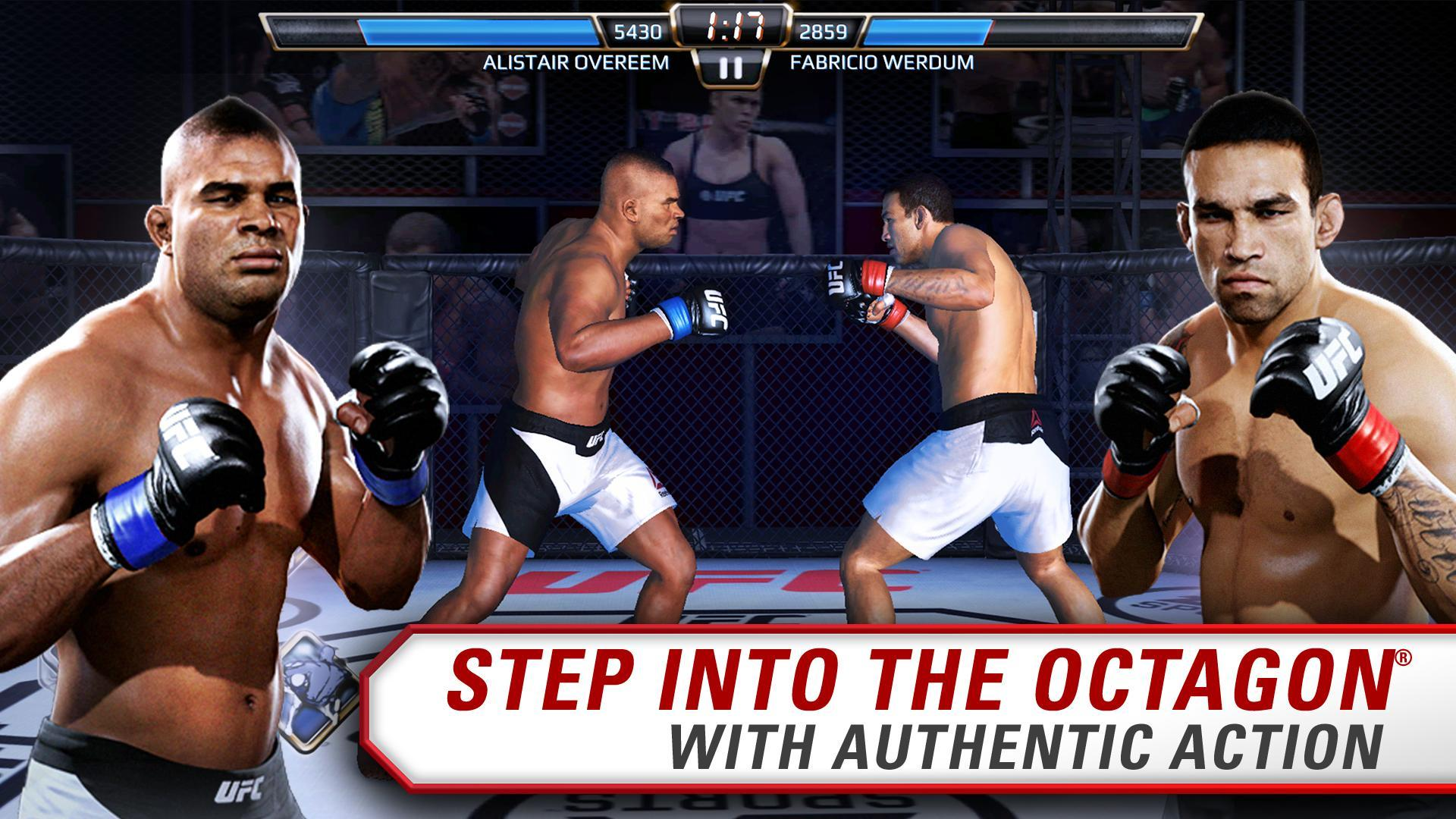 screen 0 - UFC Mod APk + Obb Data Files (Unlimited Gold/Unlocked)
