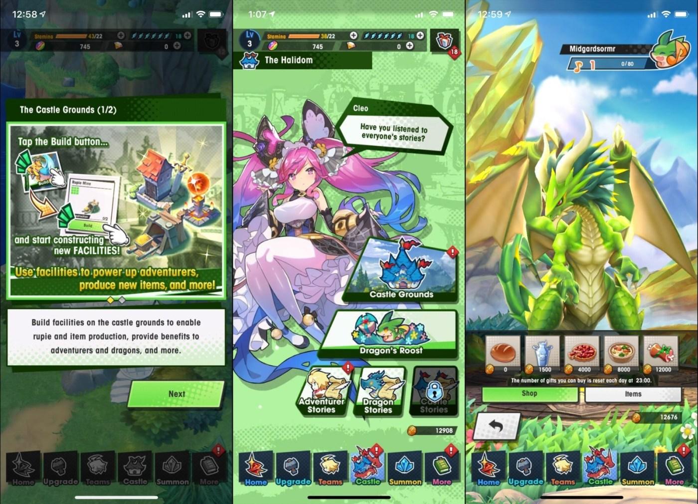dragalia lost iphone xs castle grounds - Dragalia Lost MOD APK 1.16.2 (Damage x10)