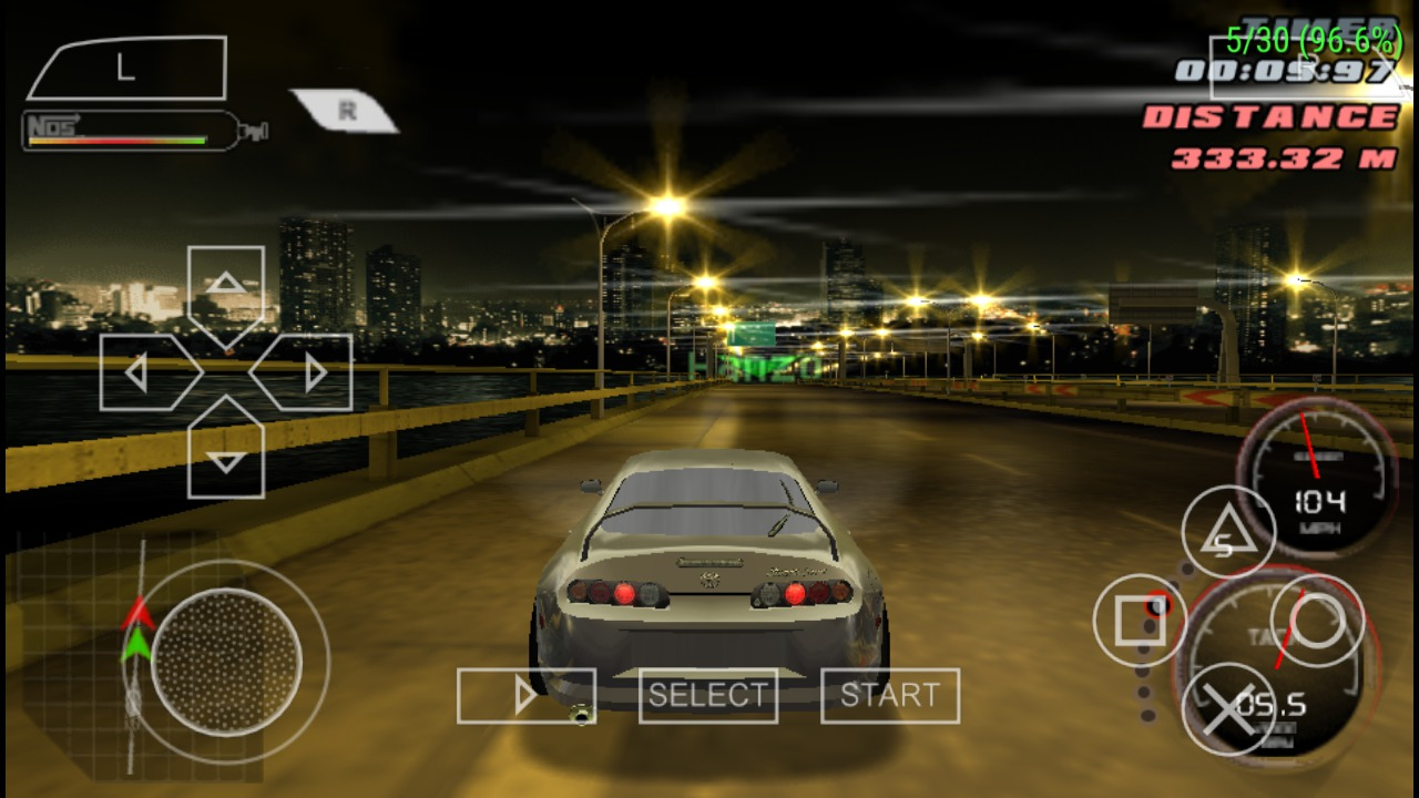156636 Fast and The FuriousThe USA 8 - PPSSPP Games Highly Compressed (Top 35 Games)