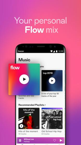 2 screen 1 - Deezer Mod Apk V6.2.2.80 - Deezer Premium Music Player