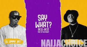 DOWNLOAD MP3: DJ Jimmy Jatt Ft CDQ – Say What (Pete Pete)