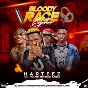mohbad ft kabex hotkid and hateez bloody race cypher