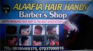 alaafia hair handy baber's shop
