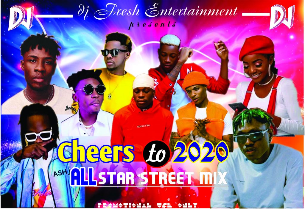 dj fresh cheers to all star 2020