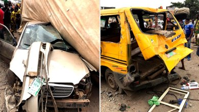 Two People Killed & Seven Injured In Ogun Highway Accident