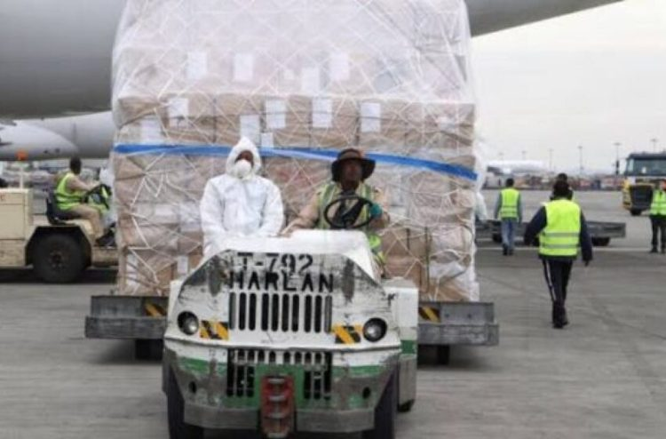 FG Receives COVID-19 Supplies From EU, UN