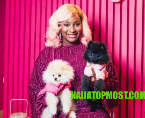 Cuppy and her dogs