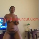 Video- Naija Girl Blessing From Akwa Ibom Dancing To Fella Song While Naked