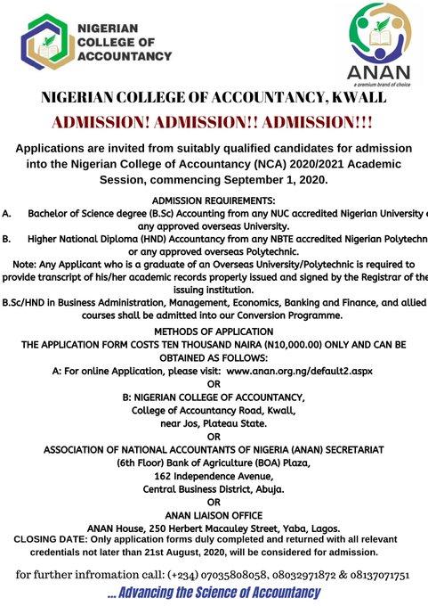nigerian college of accountancy