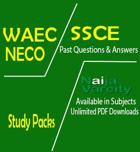 WAEC Past Questions Pack