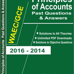 Principles of Accounts WAEC Questions