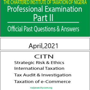 CITN Professional Examination PT II 2021