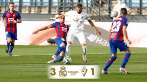 Real Madrid 3 – 1 Eibar [2019/2020] Goals Highlight