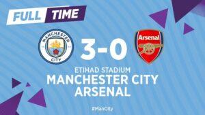 Manchester City 3 – 0 Arsenal [2019/2020] Goals Highlights