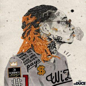 Wiz Khalifa 3 Doobies Zip