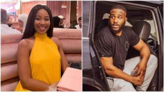 #BBNaija2020: Erica and Kiddwaya kissing hours after she called off their 'relationship' (Watch Video)
