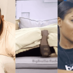 #BBNaija2020: Erica and Kiddwaya engage in another passionate kiss (Watch Video)