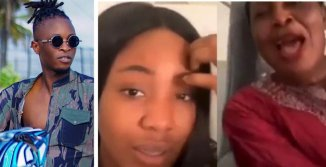 """""""They wanted to go and kill Laycon"""" – Erica quickly ends live video as her mom reveals sensitive information about Laycon (Video)"""