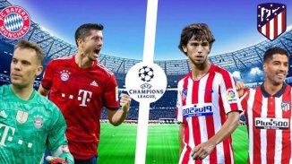 STREAM LIVE: Atletico Madrid Vs Bayern Munich [Watch Now] Champions League 2020/2021