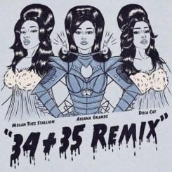 Ariana Grande Ft. Megan Thee Stallion & Doja Cat – 34+35 (Remix)
