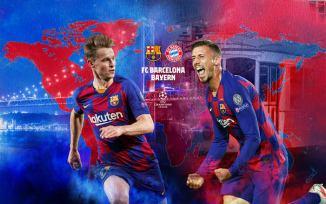 LIVE STREAM: Barcelona Vs Bayern Munich [CHAMPIONS LEAGUE] Watch Now