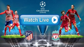 LIVE STREAM: Atletico Madrid Vs Liverpool [Champions League] Watch Now