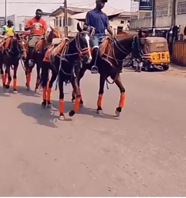 See The Price Of Horse Ride If Going From Ikoyi To Obalende