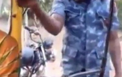 Watch Moment Police Officer Rejected Bribe, Warned Driver Never To Try It Again (Video)