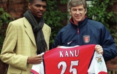 Arsene Wenger Names Kanu As The Best January Signing He Has Ever Made