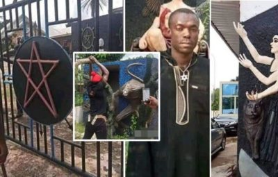 Church Of Satan Reacts To Arrest Of Founder Of Church Of Lucifer In Abia