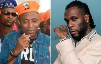 """""""I Don't Trust You""""- Burna Boy Reacts To Sowore's Invitation For October 1st Revolution Now Protest"""