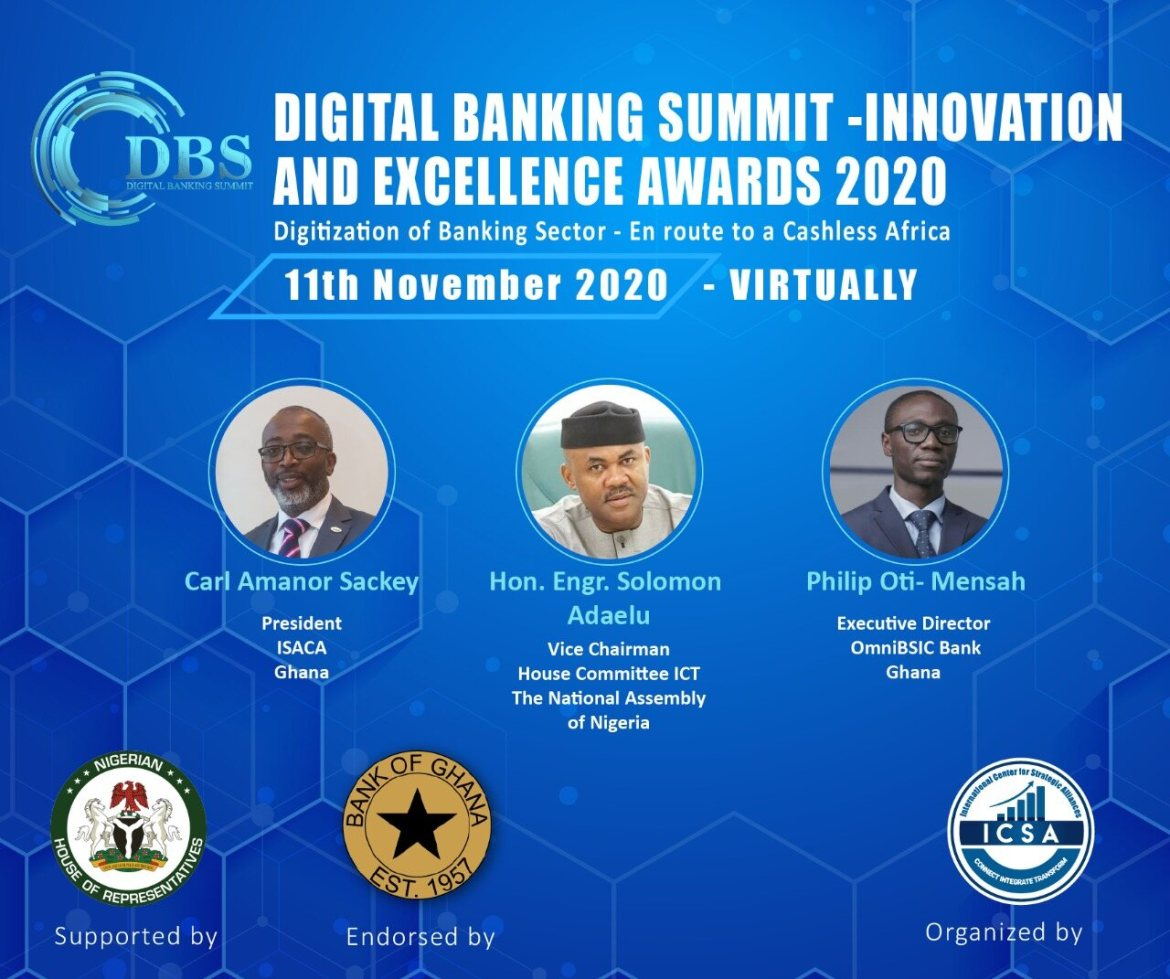 DIGITAL BANKING SUMMIT - INNOVATION AND EXCELLENCE AWARDS 2020