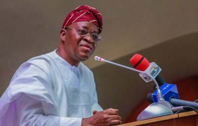 BREAKING!! Osun State Governor, Oyetola Gives Looters 72 Hours To Return Loots Or Face Prosecution