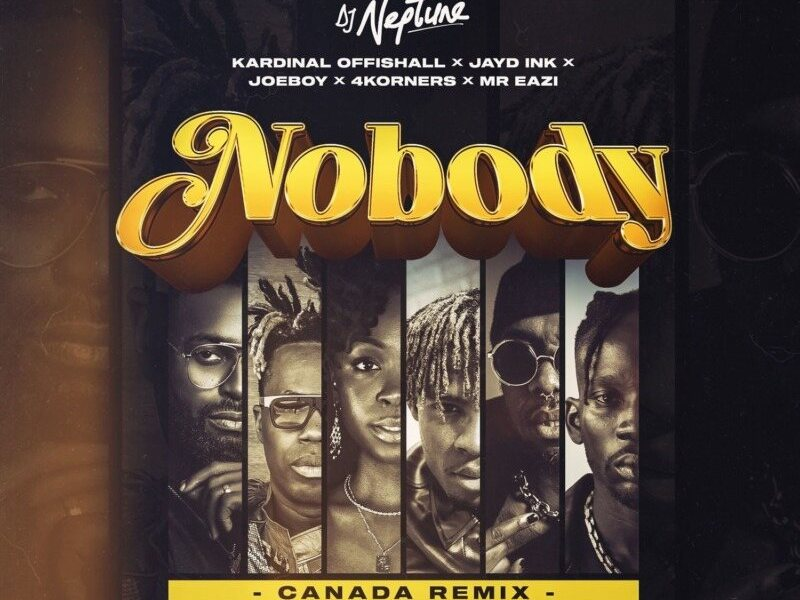 LYRICS: DJ Neptune ft. Laycon, Joeboy – Nobody (Icons Remix)