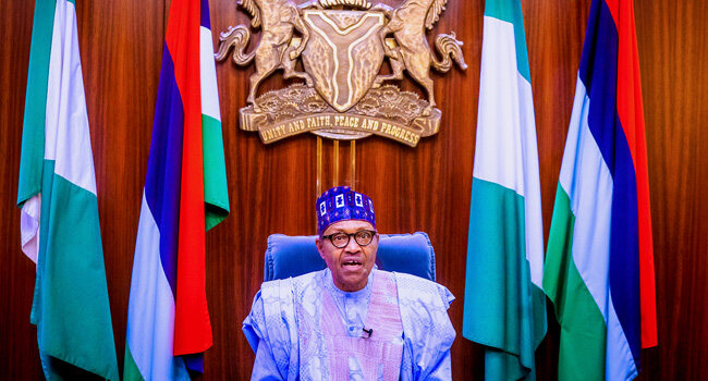 Send your children back when they come home with looted properties – Buhari tells Nigerian Parents