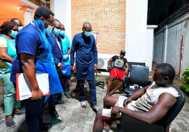 Lekki Toll-gate Shooting: Gov. Sanwo-olu Visits Victims, Says The State Will Take Care Of Their Medical Bills (Photos)