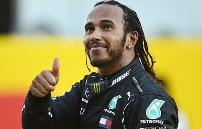 Lewis Hamilton has been named the most influential black person.(Read More)
