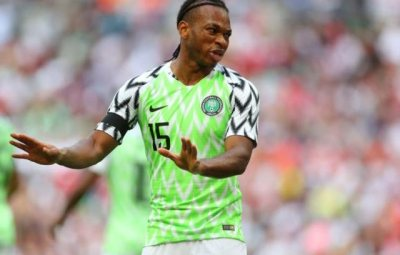Nigerian International Joel Obi Racially Abused by Opponent in Italy