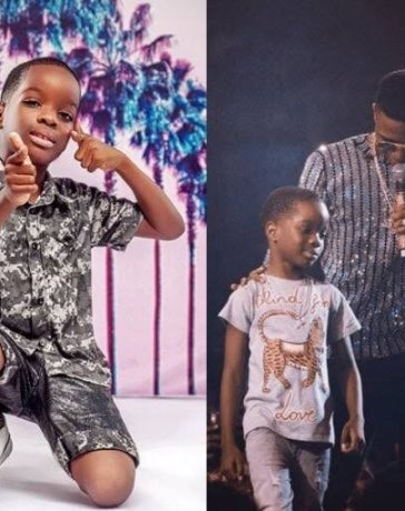 Wizkid's First Son Tife Shows-Off Rap Skills in Trending Video